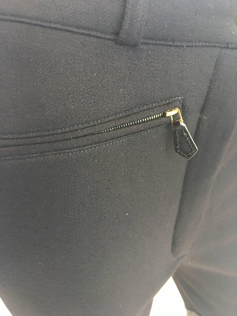 Hermès 1970's Riding Pants