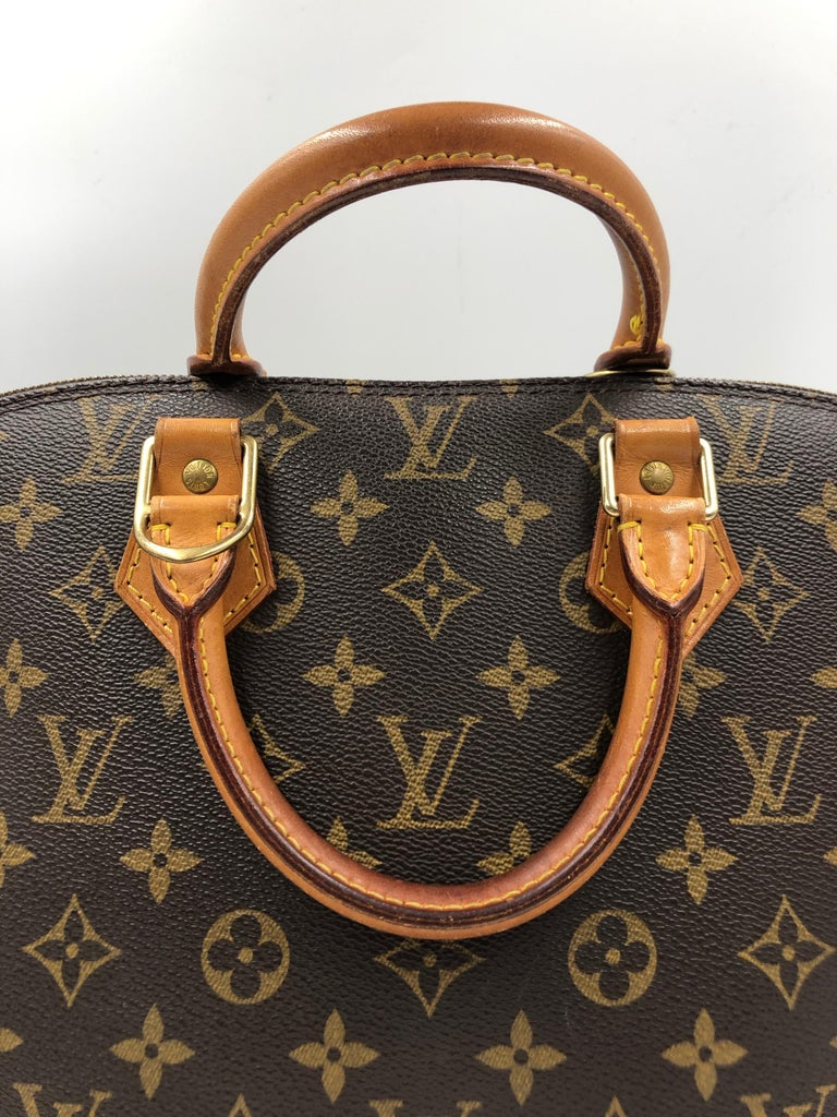 Louis Vuitton Brown Monogram Canvas Alma Pm Bag
