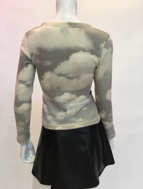 Moschino 1990'S Wool Cloud Sweater