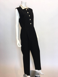 Gianni Versace Couture 1980's Jumpsuit