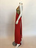Giorgio Sant'Angelo 1970's Red Jersey Halter Dress