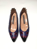 Maud Frizon Purple Pumps