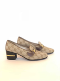 Gucci Logo Loafer Pump