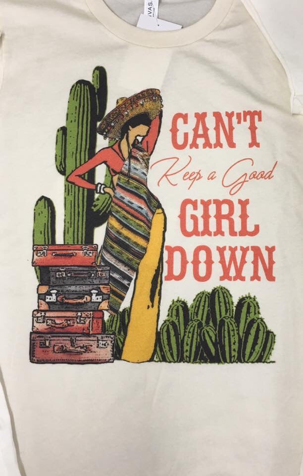 "Baby Tee ""Can't Keep A Girl Down"""