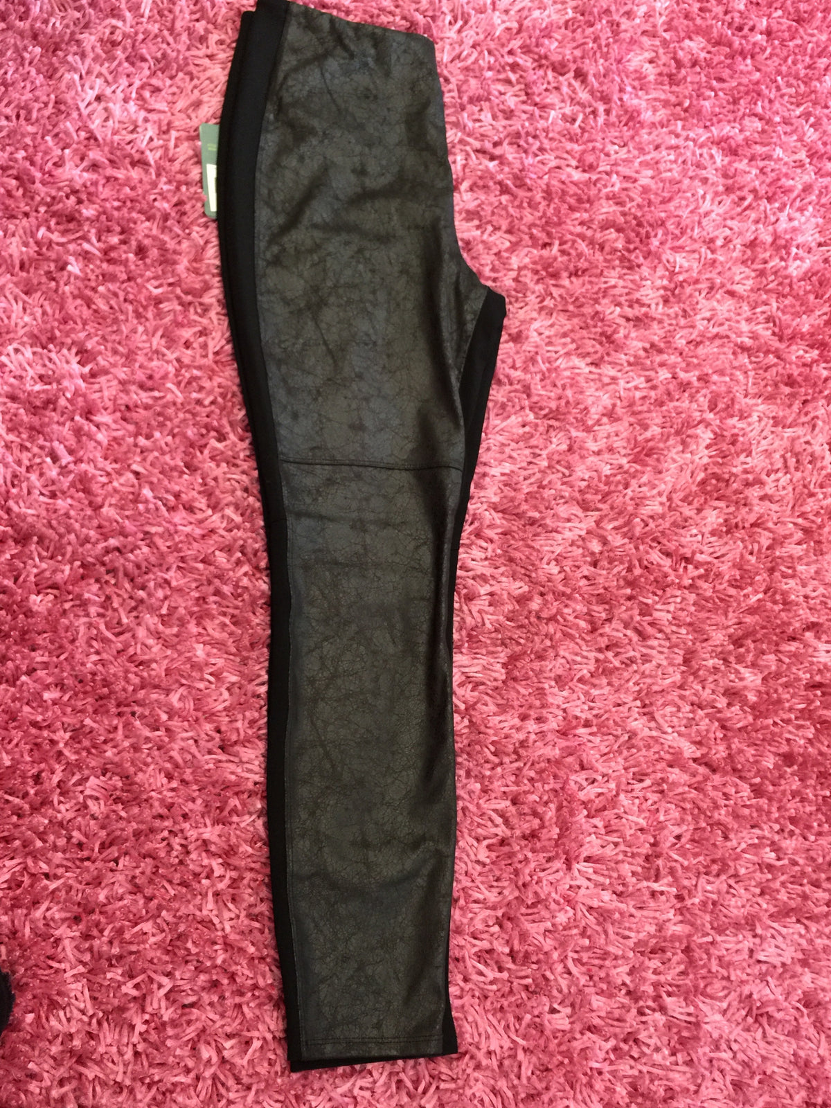 Black Leather Legging