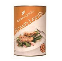 Ceres - Organic Brown Lentils - 400g