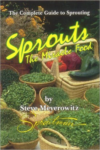 Book - Sprouts, The miracle food