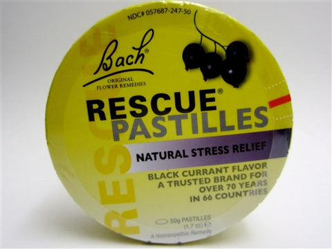 Bach - Flowers Rescue Remedy Blackcurrant 50g Pastilles