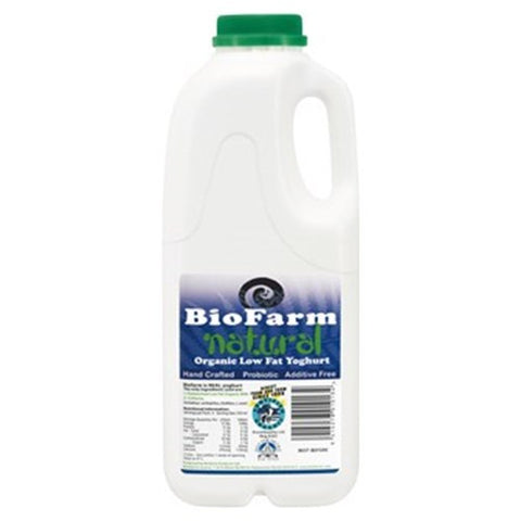 Biofarm, Organic Natural Low Fat Yoghurt, 1l