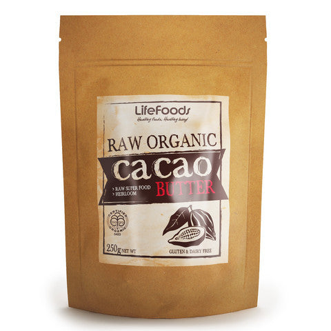 RAW Certified Organic Cacao Butter