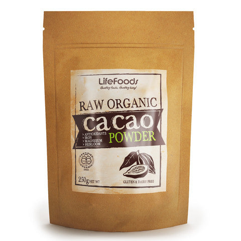 RAW Certified Organic Cacao Powder