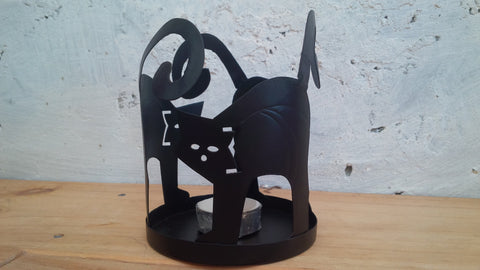 Trade Aid - Cat Shape Candle Holder