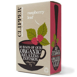 Clipper Organic Raspberry Leaf Infusion, 20 bags
