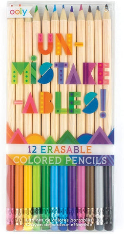 Unmistake-ables! Erasable Colored Pencils