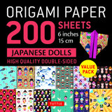 Origami Paper Packs-Japanese Dolls (200)-9780804852074-HMWF Store