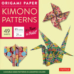 Origami Paper Packs-Kimono Patterns (49)-9784805310717-HMWF Store