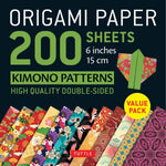 Origami Paper Packs-Kimono Patterns (200)-9780804850803-HMWF Store