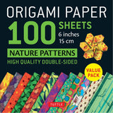 Origami Paper Packs-Nature Patterns (100)-9780804849975-HMWF Store