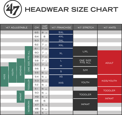 best service 9f104 cca45  47 Brand sizing how to find a cap   headwear thats the right size  lidzcaps.