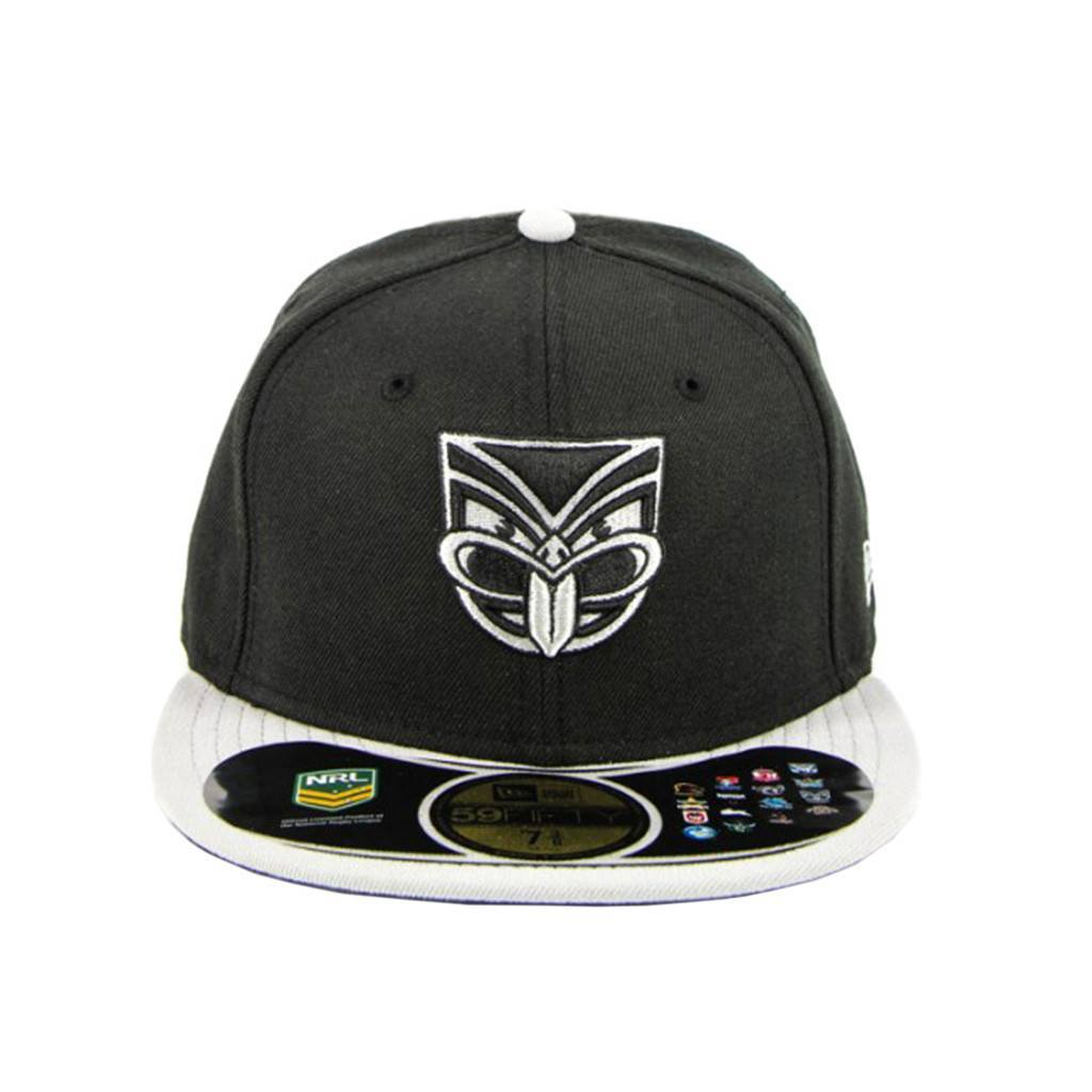 59Fifty Fitted Cap - Auckland Warriors Black Grey Fashion Fitted Cap