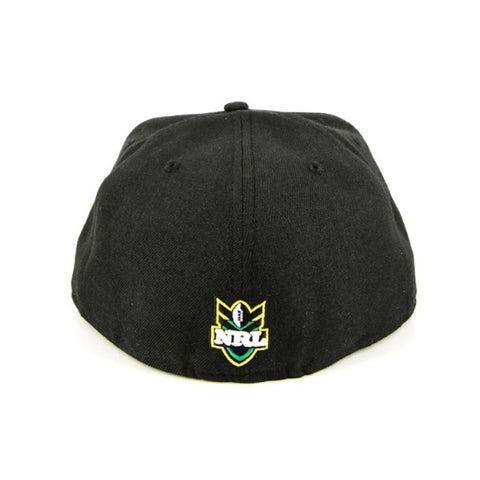Auckland Warriors Black Grey Fitted New Era Cap