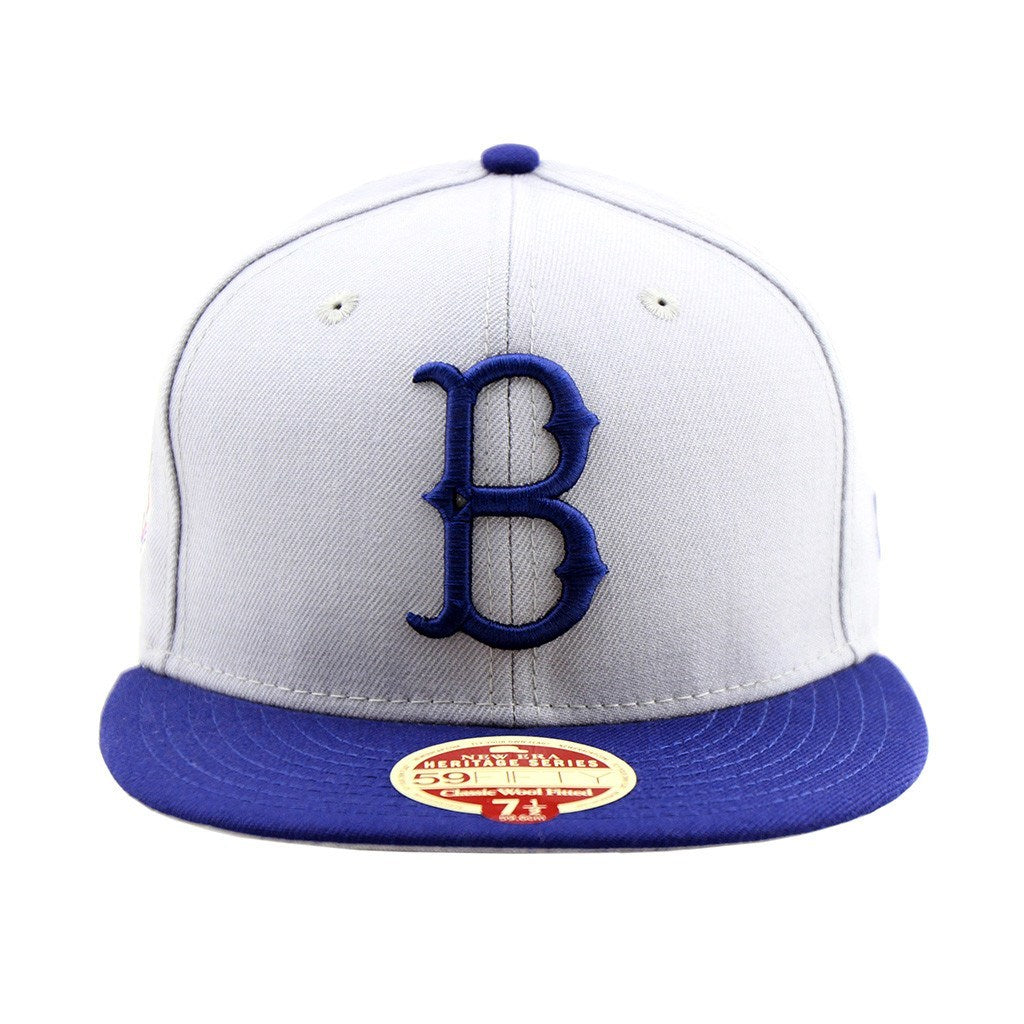 59Fifty Fitted Cap - Brooklyn Dodgers Baseball Heritage Series Two Tone Fitted Cap