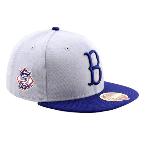 Brooklyn Dodgers Baseball Heritage Series Two Tone Fitted New Era Cap