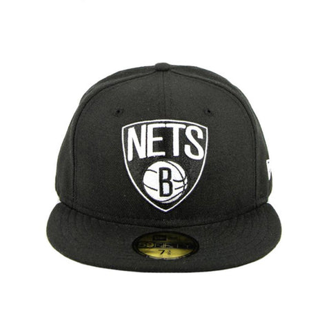 Brooklyn Nets Black Grey Fashion Fitted New Era Cap