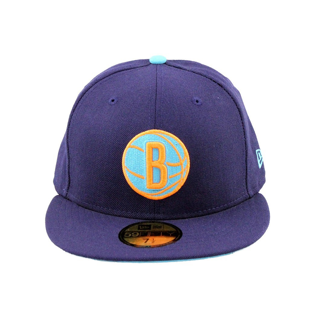59Fifty Fitted Cap - Brooklyn Nets Neon Purple Fashion Fitted Cap