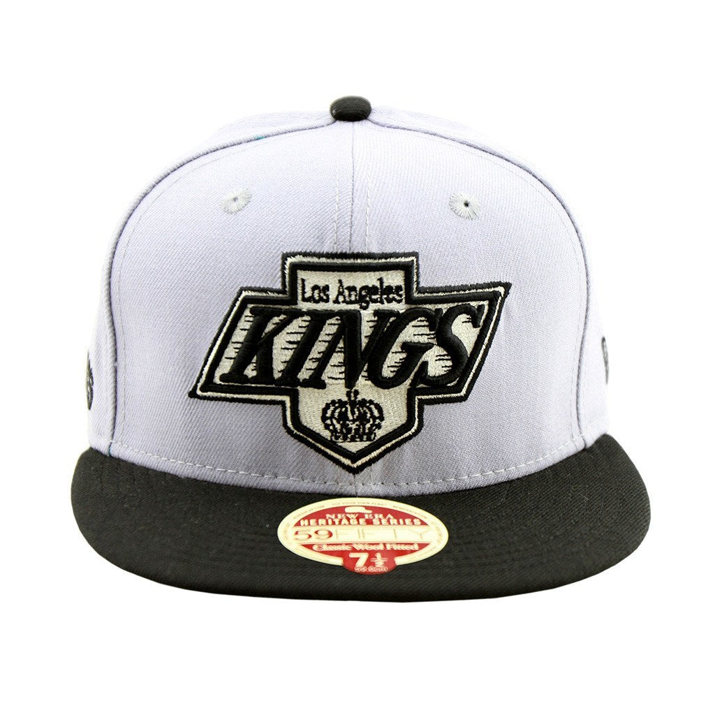 59Fifty Fitted Cap - Cali Kings Hockey Heritage Series Two Tone Fitted Cap