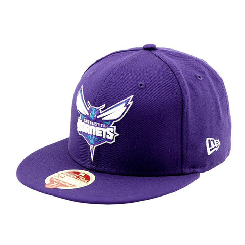 Charlotte Hornets Heritage Series New Era Fitted Cap Purple