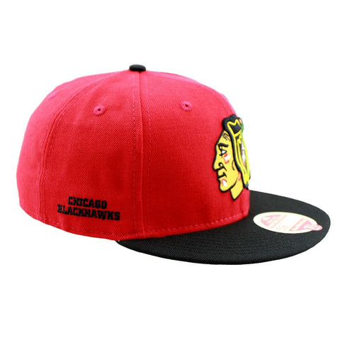 Chicago Blackhawks New Era Hockey Heritage Series Two Tone Fitted Cap