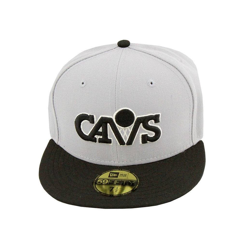 59Fifty Fitted Cap - Cleveland Cavaliers Grey Black Fashion Fitted Cap