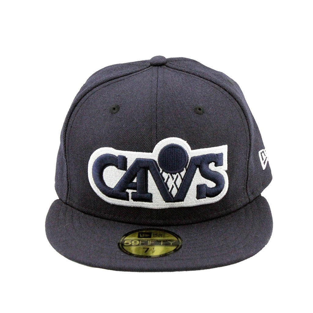 59Fifty Fitted Cap - Cleveland Cavaliers Neon Navy Fashion Fitted Cap