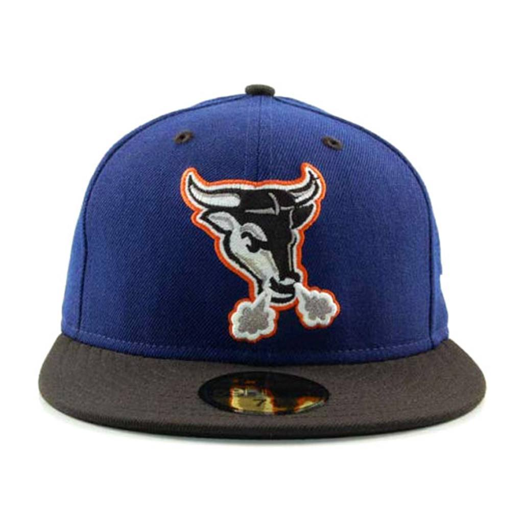 59Fifty Fitted Cap - Durham Bulls Blue Black Fashion Fitted Cap
