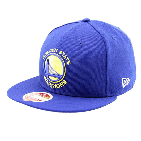 Golden State Warriors New Era Royal Blue Heritage Series Fitted Cap