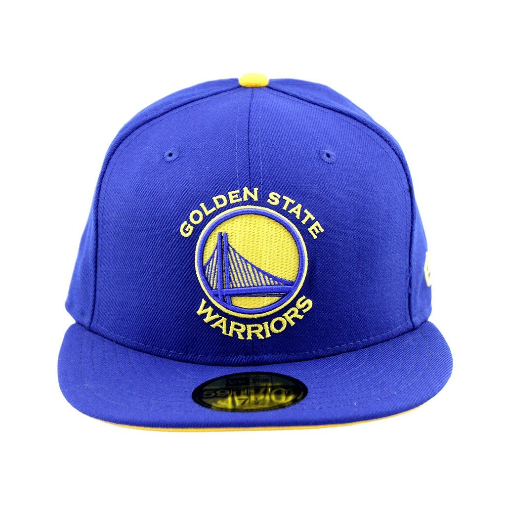 59Fifty Fitted Cap - Golden State Warriors Royal Blue Team Fitted Cap