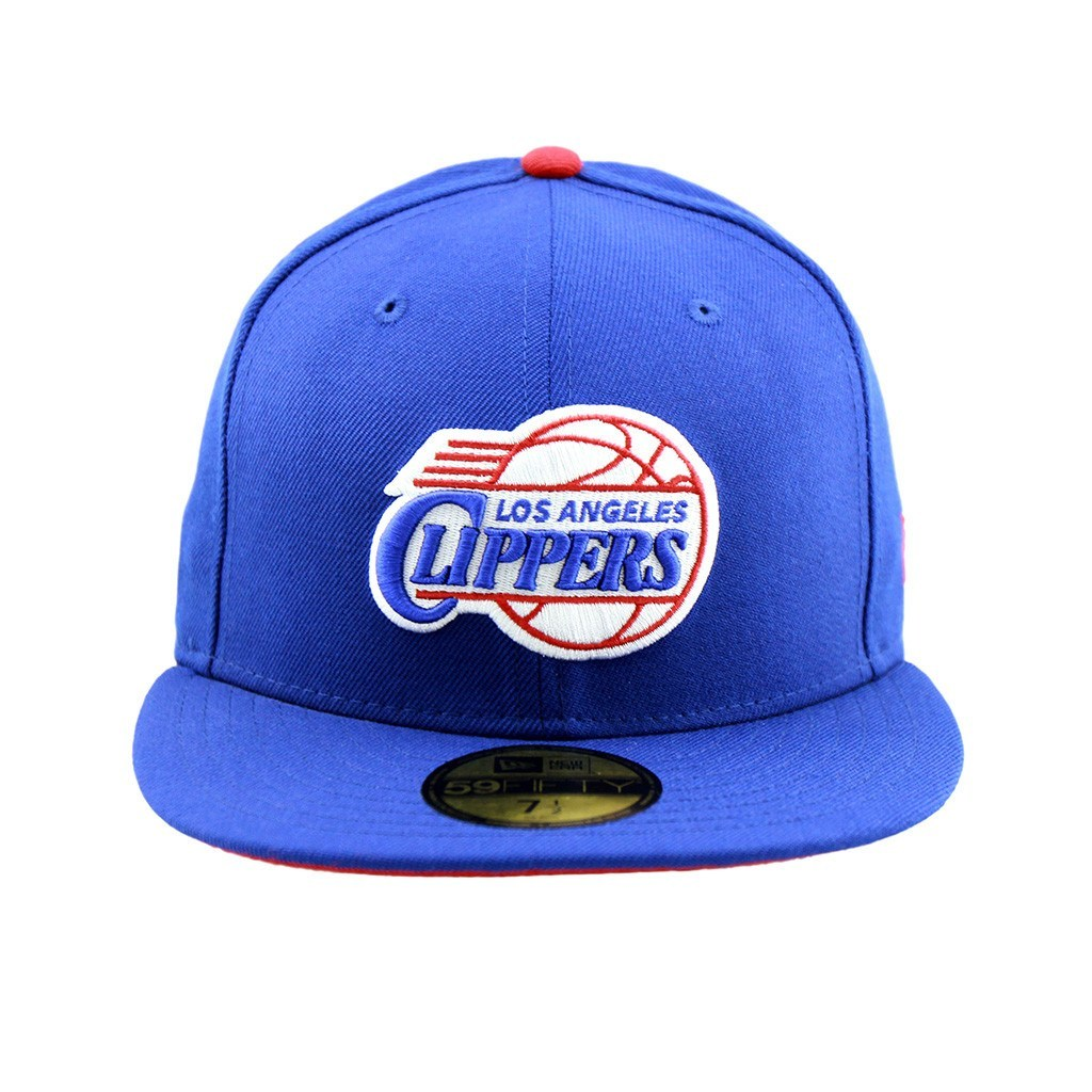 59Fifty Fitted Cap - Los Angeles Clippers Royal Blue Team Fitted Cap