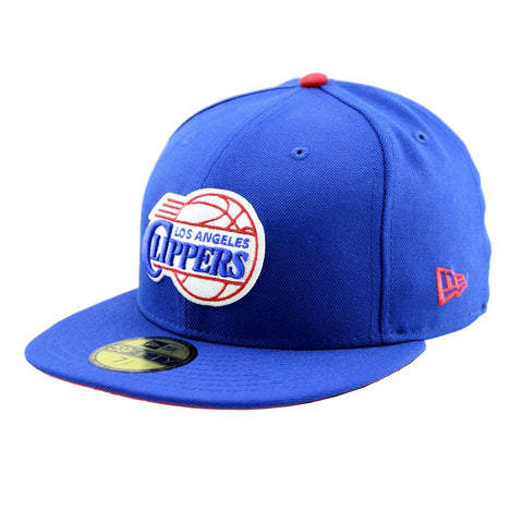 Los Angeles Clippers Royal Blue Team Fitted Cap