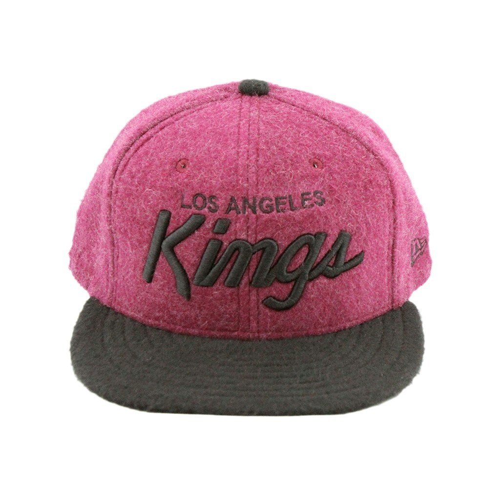 59Fifty Fitted Cap - Los Angeles Kings Fuzzy Fitted Cap