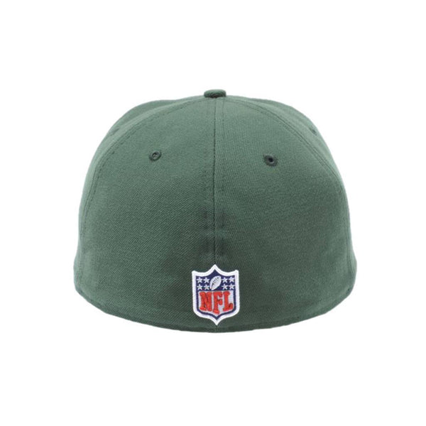 New York Jets Green on Green On-Field Fitted Cap �C Lidzcaps