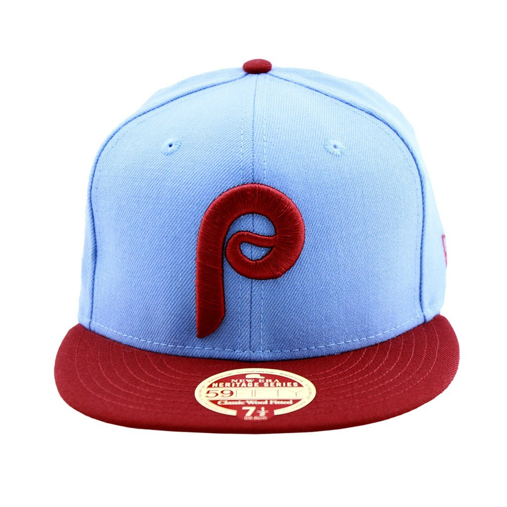 59Fifty Fitted Cap - Philadephia Phillies Baseball Heritage Series Two Tone Fitted Cap