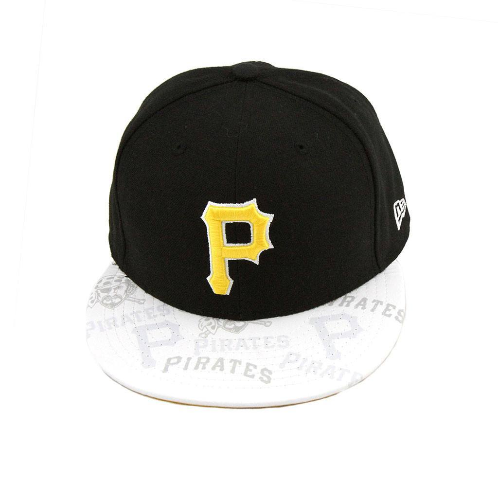 59Fifty Fitted Cap - Pittsburgh Pirates Black Clear Vis Fashion Fitted Cap