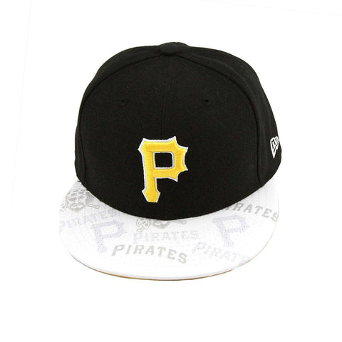 Pittsburgh Pirates Black Clear Vis Fashion Fitted Cap