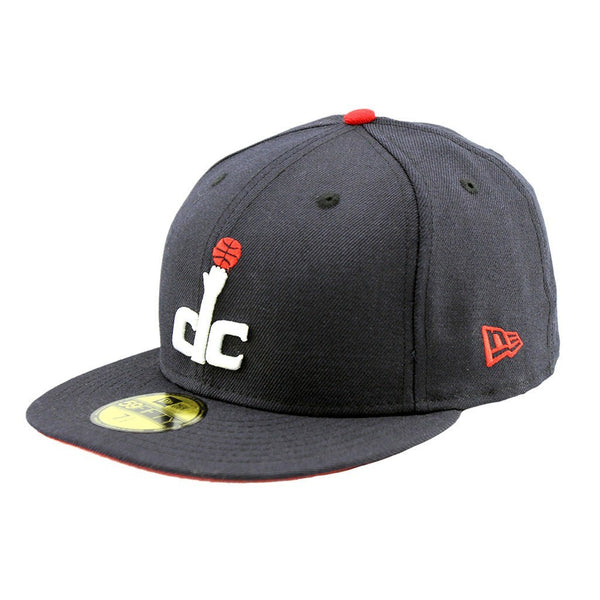 7e1b2a96c182e ... 59Fifty Fitted Cap - Washington Wizards DC Navy Red Under Team Fitted  Cap ...