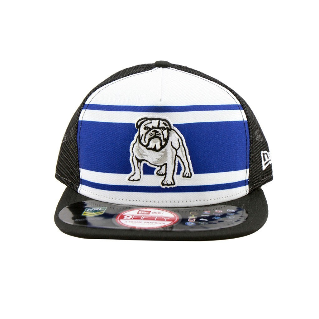 9Fifty Snapback A-Frame Cap - Canterbury Bulldogs Truckers A-Frame Snapback