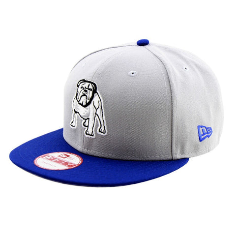 Canterbury Bulldogs Grey Blue New Era OSFA Two Tone Snapback Cap