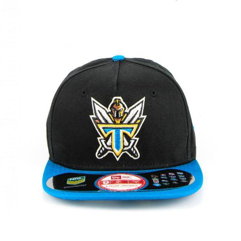 Gold Coast Titans Black Blue Brim Snapback Cap