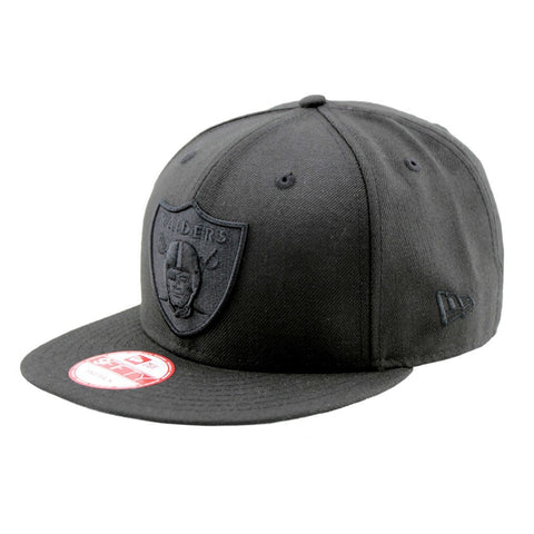 Oakland Raiders Black on Black 9Fifty Cap