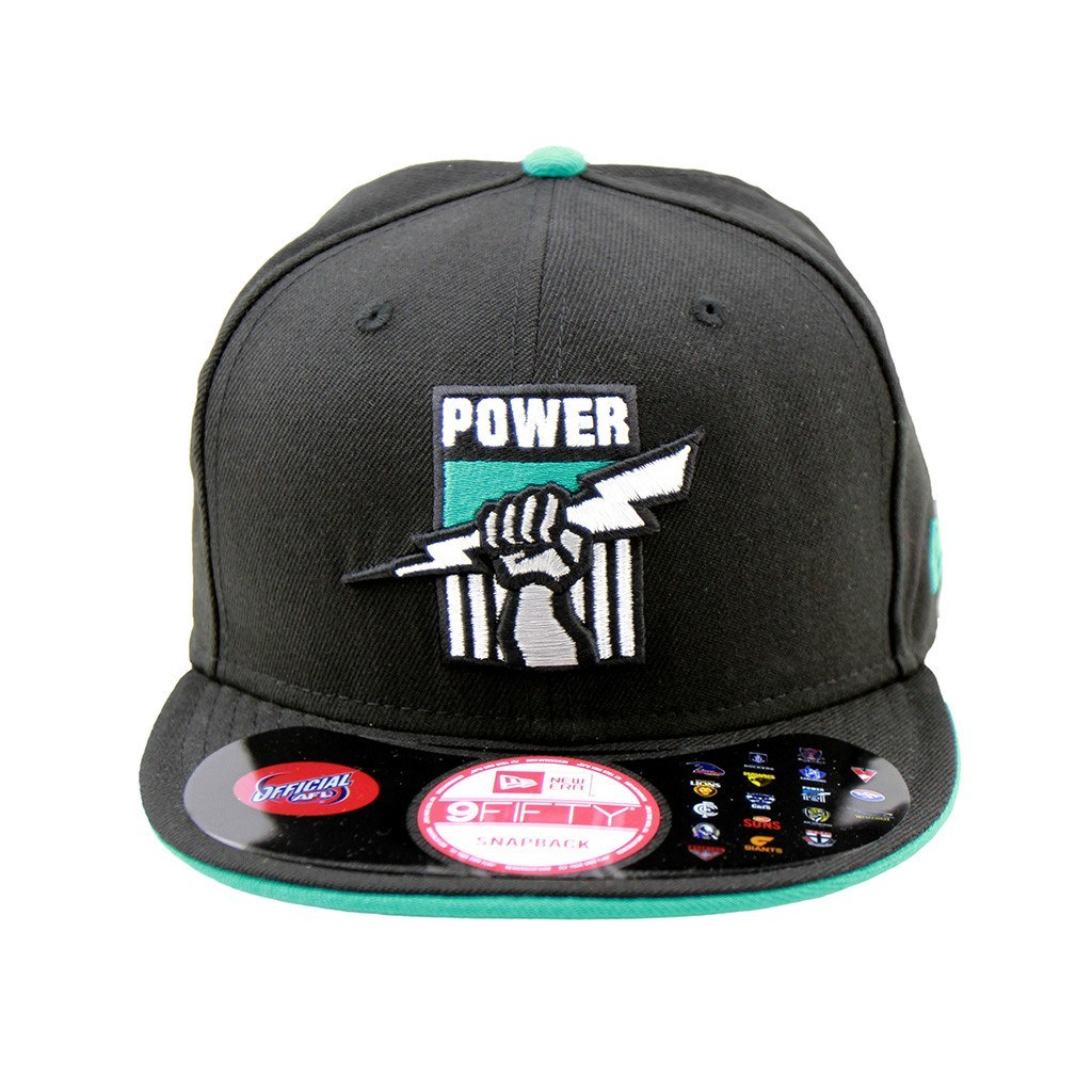 9Fifty Snapback Cap - Port Adelaide Power Snapback Cap
